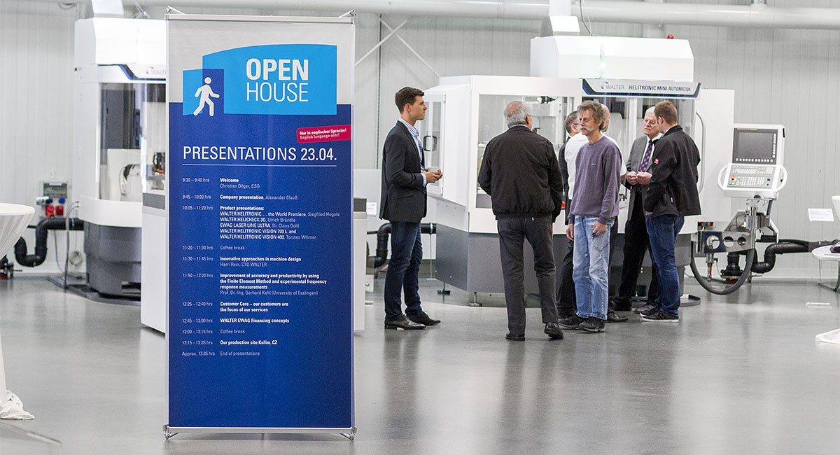 "Walter-Event ""OPENHOUSE"" in Tübingen"